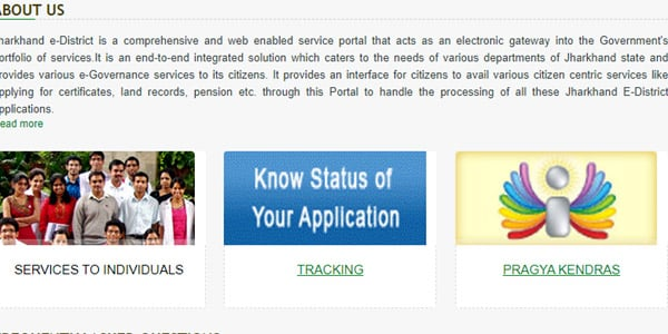 Application Tracking Jharkhand