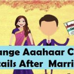 Name & Address Change in Aadhaar Card after Marriage