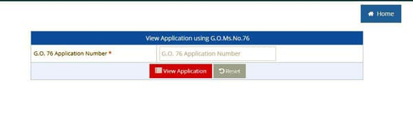 Application number for Pahani or ROR 1B