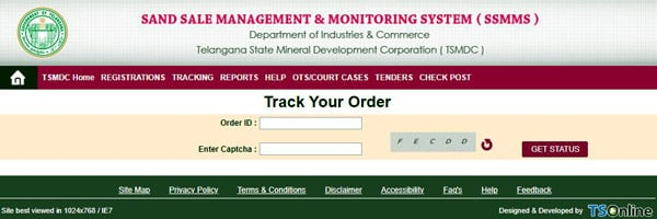 Sand Sale Management & Monitoring System Tracking Sand Booking Order