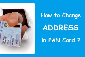 Change address in PAN card using mobile