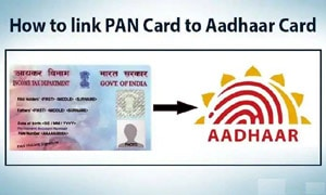 Linking pan with Aadhaar or Link Aadhaar with Pan