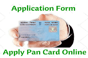 apply for pan card/GIR Number