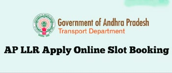 aptransport.org for book a slot for llr
