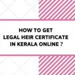 how to get legal heir certificate