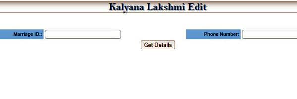 edit kalyana laxmi application form